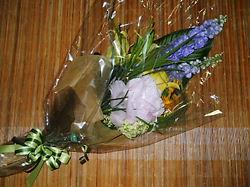 錦織さんのお花