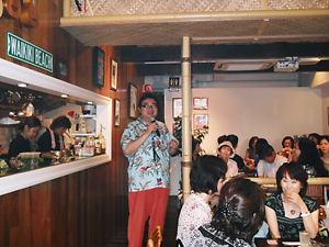 大阪パーティでの挨拶