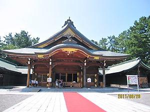 新潟護国神社本殿