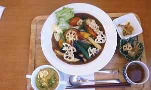 アジャーラー野菜カレー