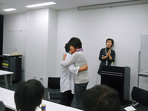 名古屋講演会・悦子&お母さん