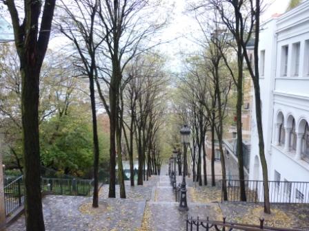 パリ、モンマルトル
