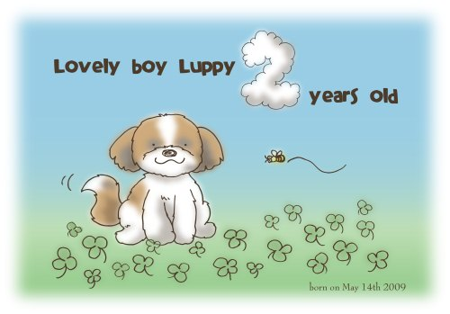 Luppy 2years