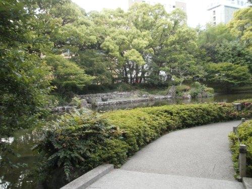 早朝の横浜公園6