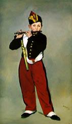 Manet 笛を吹く少年