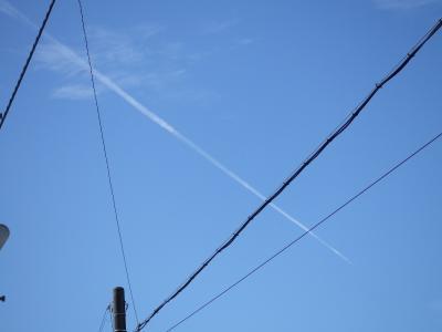 飛行機雲400