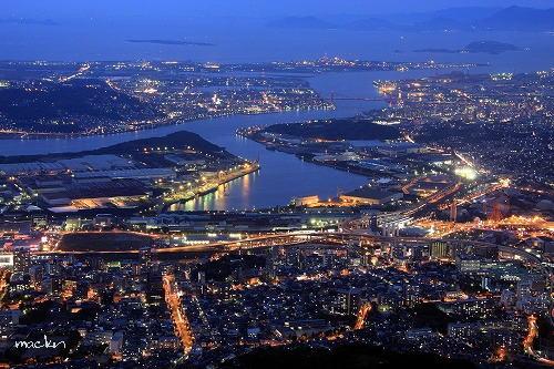 若戸大橋の眺望