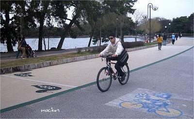 大濠公園の周回道