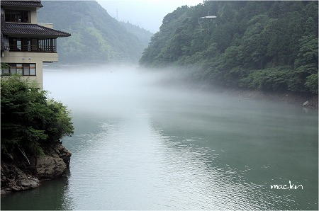 面河川ダム湖