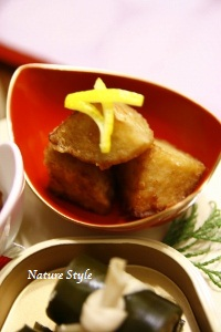 京芋の唐揚げ