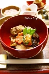 炒り鶏風煮物