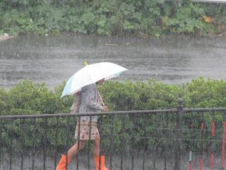 雨降りソロバン