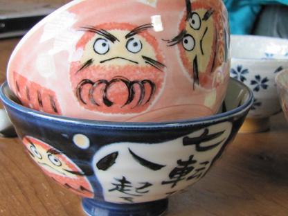 楓と愛のお茶碗