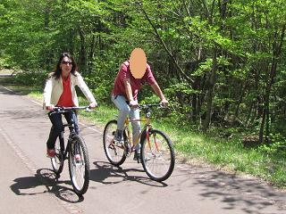 Kanaとカレ サイクリング