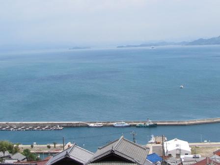 (たぶん)豊島の港
