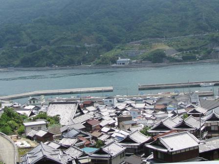 たぶん豊島の港