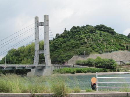 平羅橋とカレ