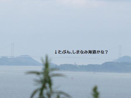 あの遠くに見える橋は・・・