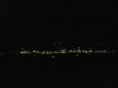 島の明かり