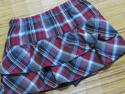 パンツ付きフリルスカート