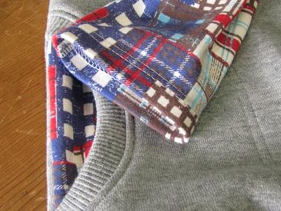 袖口&ポケット