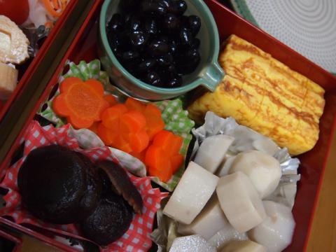 2012年1月1日昼食