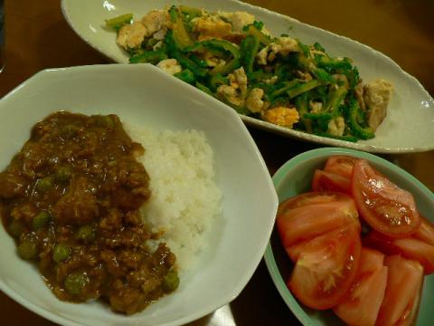 2011年7月26日夕食