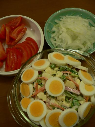 2011年7月31日夕食