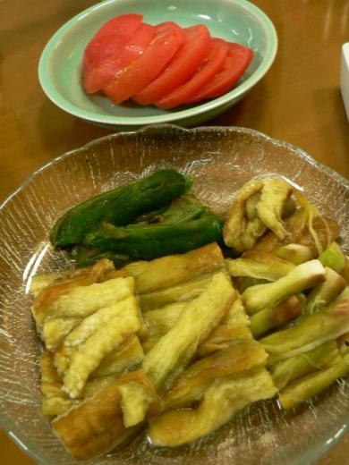 2011年8月10日夕食