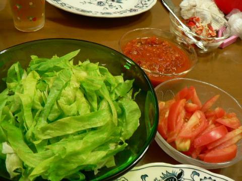 2011年9月2日夕食