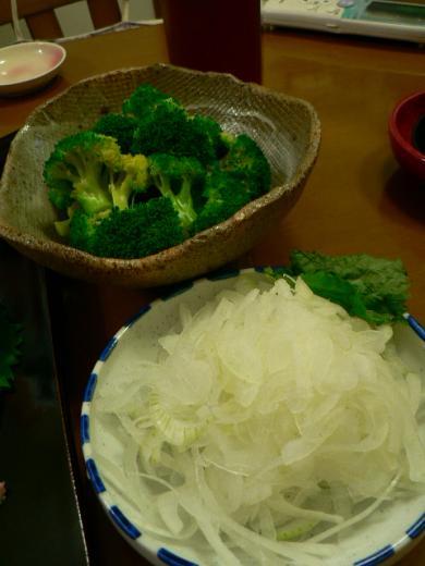 2011年9月11日夕食