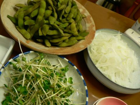 2011年9月12日夕食
