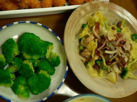 2011年9月19日夕食