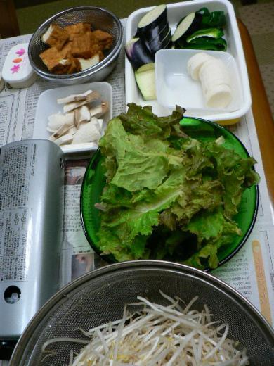 2011年10月8日夕食
