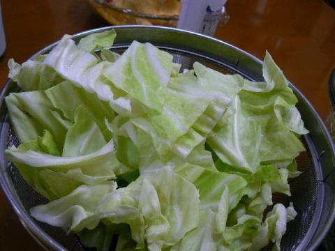 2011年11月3日夕食