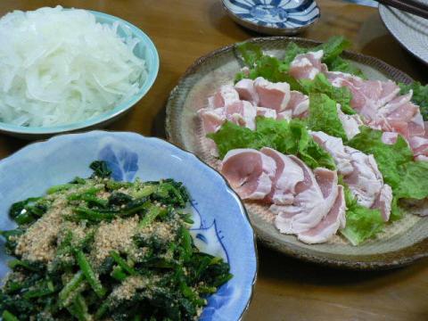 2011年11月8日夕食