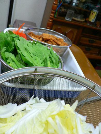 2011年11月24日夕食