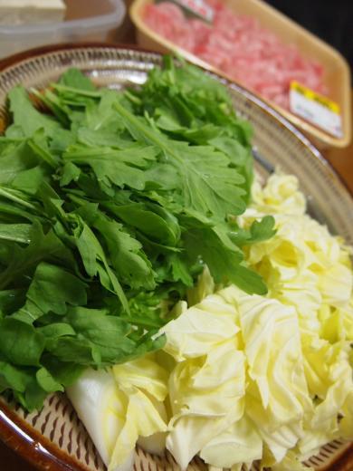 2012年2月3日夕食