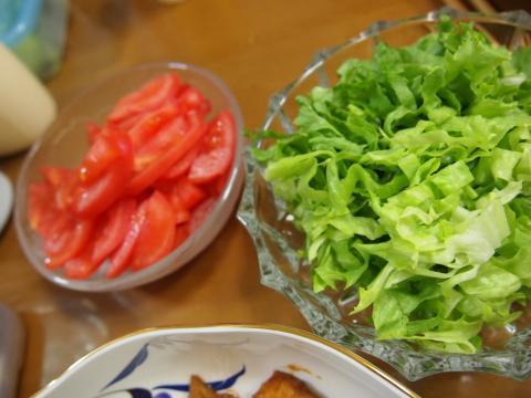 2012年3月22日夕食