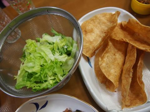 2012年3月29日夕食