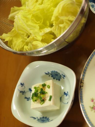 2012年5月11日夕食