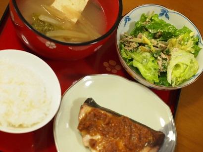 2012年5月16日夕食