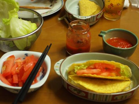 2012年6月15日夕食