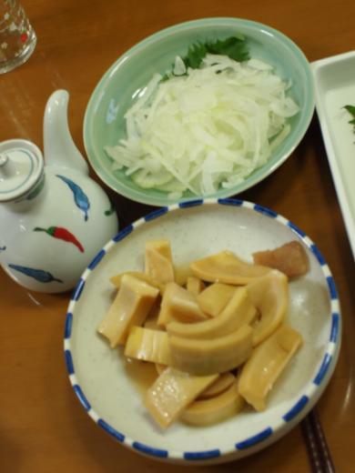2012年6月17日夕食