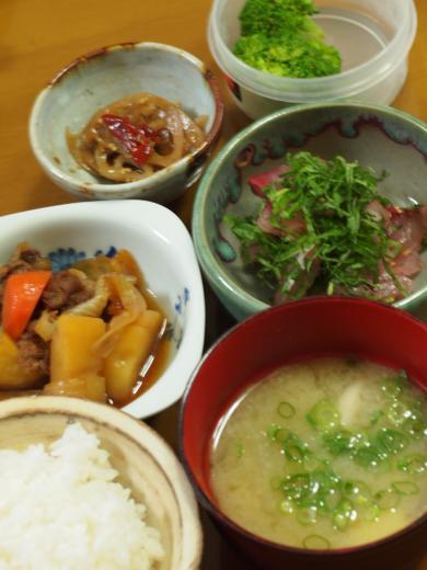 2012年6月25日夕食