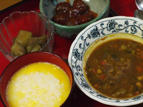 2012年7月2日夕食