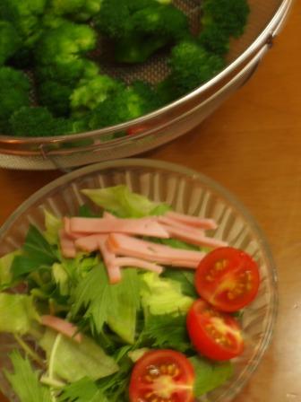 2012年7月8日夕食