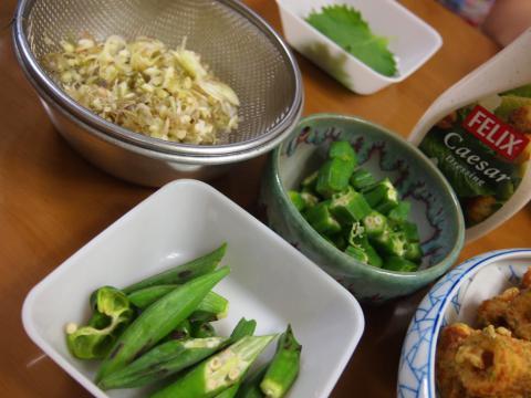 2012年7月27日夕食