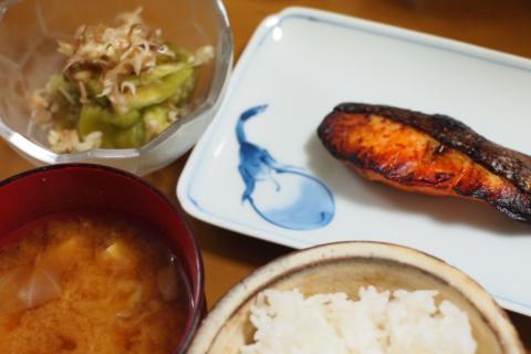 2012年9月10日夕食