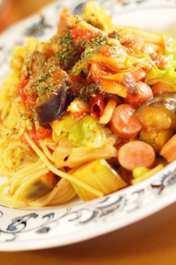 冷蔵庫清掃トマトスパゲティ―